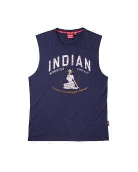 BOMBER GIRL TANK, NAVY