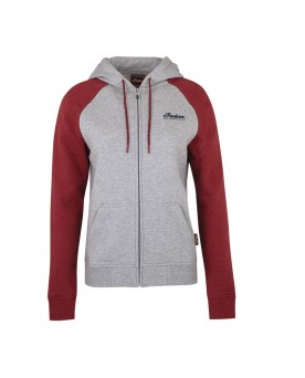DIAMANTE ICON HOODIE, GRAY