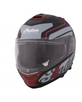MODULAR MATTE HELMET, BLACK/RED