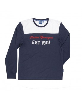 RETRO MOTOCROSS TEE, NAVY