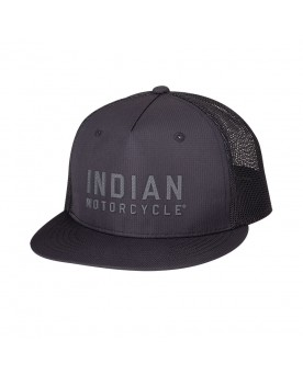 HIGH PROFILE BLOCK LOGO HAT, BLACK
