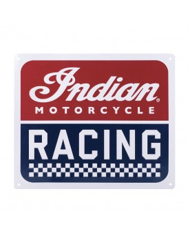 INDIAN MOTORCYCLE RACING SIGN