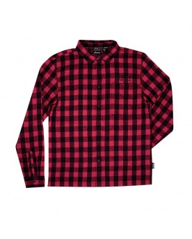 BUFFALO PLAID SHIRT, RED