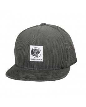 HIGH PROFILE CORDUROY HAT, KHAKI