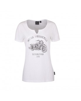 SCOUT BIKE TEE, WHITE