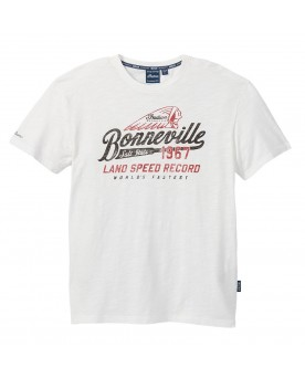 Bonneville T-Shirt, White