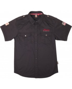Mens Casual Shirt Black