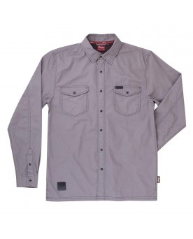 Mens Washed Twill Shirt
