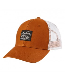CASQUETTE BSMC x INDIAN MOTORCYCLE PATCH, TAN