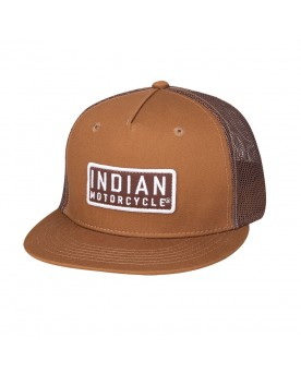 CASQUETTE HIGH PROFILE PATCH, MARRON