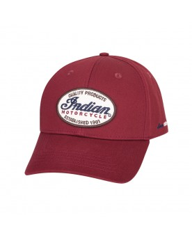 CASQUETTE IMC PATCH, ROUGE
