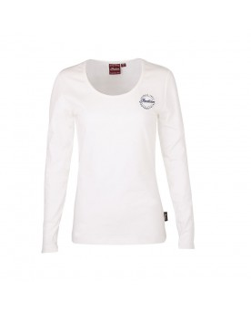 T-SHIRT DIAMANTE ICON, BLANC