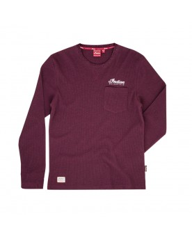 HERITAGE POCKET T-SHIRT, ROT