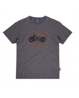 BIKE T-SHIRT, GRAU