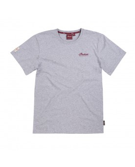 ENGINE LOGO T-SHIRT, GRAU