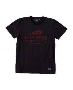 BSMC x INDIAN MOTORCYCLE T-SHIRT, SCHWARZ