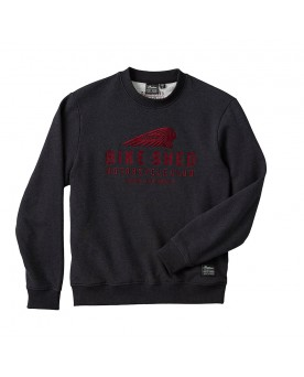 BSMC x INDIAN MOTORCYCLE SWEATSHIRT, ANTHRAZIT