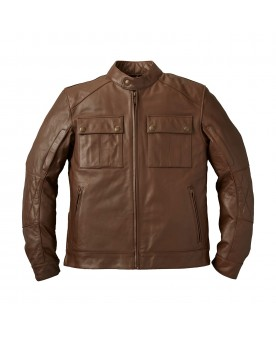 GETAWAY JACKET, BROWN