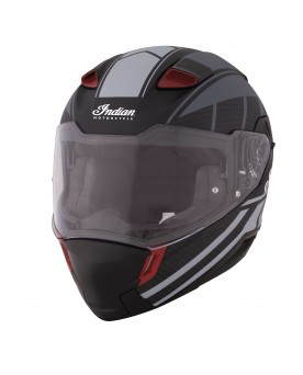 SPORT FULL FACE MATTE HELMET, BLACK/GRAY
