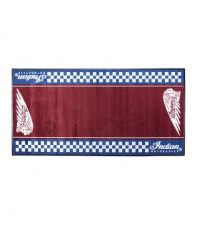 IMC CHECKERED BIKE MAT