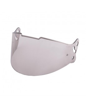 Retro Full Face Helmet Visor Grey