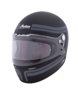 Matte Stripe Full Face helmet ECE